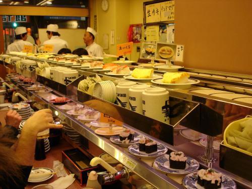 conveyor belt sushi. Sushi Belt