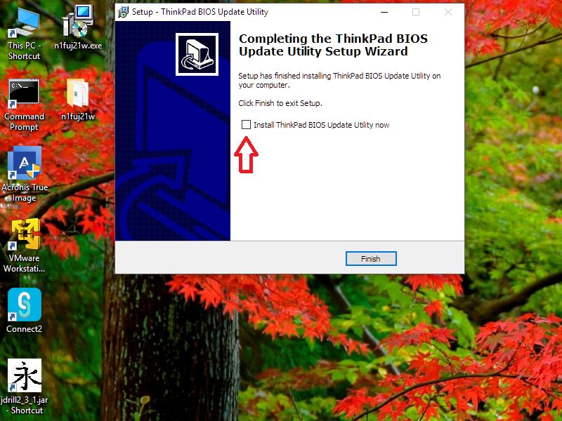 Update ThinkPad BIOS with Bootable Flash Drive   GeezBlog